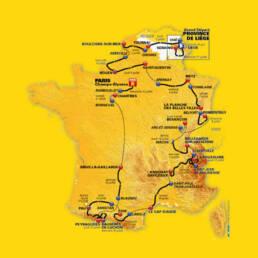 Parcour De Tour de France 2012