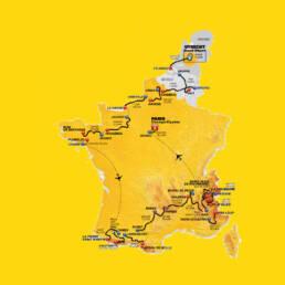 Parcour De Tour de France 2015