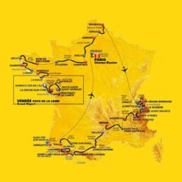 Parcour De Tour de France 2018